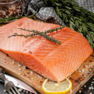 Copper River coho salmon